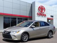 CARFAX One-Owner. Super White 2015 Toyota Camry XLE FWD