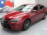 2015 Toyota Camry with 3.5L V6 Engine,Leather/Suede