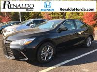 2015 Toyota Camry XLE Pearl Leather.  Carfax One-Owner.
