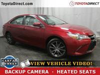 2015 Toyota Camry XSE TOYOTA CERTIFIED! CARFAX VERIFIED