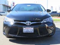 Options:  2015 Toyota Camry Sedan Xse V6|Black|3.5L V6