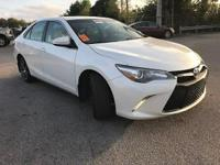 Super White 2015 Toyota Camry XSE FWD 6-Speed Automatic