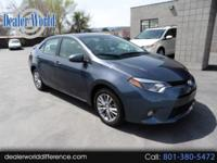 This 2015 Toyota Corolla LE Plus is super clean with