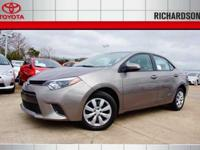 Switch to Toyota of Richardson! Why pay more for less?!