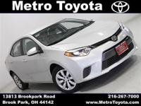 Toyota Certified, Low Miles, One Owner, Clean CARFAX!