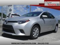 2015 Toyota Corolla LE, 1 FLORIDA OWNER CLEAN VEHICLE