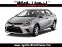 This 2015 Toyota Corolla L boasts features like