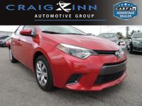 Certified Vehicle! New Arrival! LOW MILES, This 2015