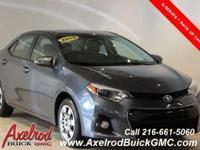 TOYOTA COROLLA S, 4-SPEED AUTOMATIC TRANSMISSION, 1.8L