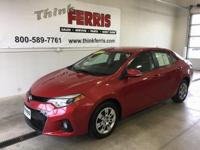 **Corolla S Pkg**, **No-Accident History**, **Budget