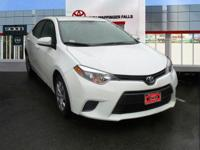 CARFAX One-Owner. Certified. Super White 2015 Toyota