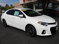 Say Yes To Express!! 2015 Toyota Corolla S Plus 1.8L I4