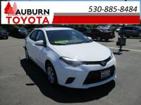 LOW MILES, 1 OWNER, BLUETOOTH!  This 2015 Toyota