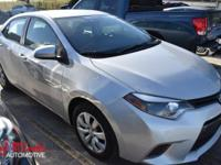 Look at this 2015 Toyota Corolla LE. Its Variable