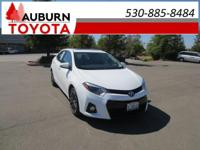 1 OWNER, LOW MILES, BLUETOOTH!!  This 2015 Toyota