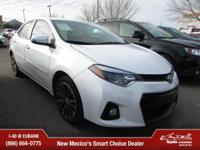 Options:  2015 Toyota Corolla|Sedan|Thank You For