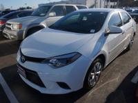 Recent Arrival! 2015 Toyota Corolla LECARFAX One-Owner.