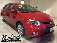 Recent Arrival! Certified. 2015 Toyota Corolla LE ECO