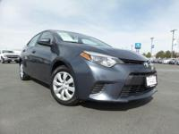 This Toyota Corolla delivers a Regular Unleaded I-4 1.8