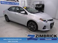 Options:  2015 Toyota Corolla 4Dr Sdn Cvt S Plus