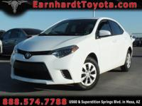 We are happy to offer you this CERTIFIED 2015 TOYOTA