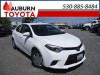 FUEL EFFICIENT and DEALER MAINTAINED! This outstanding
