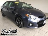 Recent Arrival! 2015 Toyota Corolla in Slate, AUX