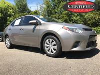 Certified. Clean CARFAX. TOYOTA CERTIFIED, BLUETOOTH,