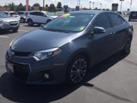 Look at this 2015 Toyota Corolla S. Its Variable