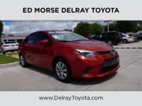 This 2015 Toyota Corolla S Plus is proudly offered by