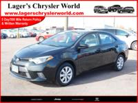 Here is a nice Low Mile, Reliable Toyota Corolla and