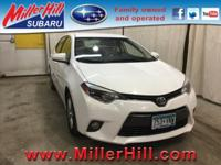 2015 Toyota Corolla LE waiting for you! With hardly any