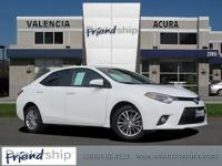 2015 Toyota Corolla Sedan Le Plus ,New Price! CARFAX