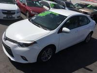 2015 TOYOTA COROLLA LE*ALLOY WHEELS*BACK-UP CAMERA*ONE