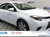 ** TOYOTA FACTORY CERTIFIED **, ** SUPER LOW MILES w/