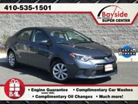 One Owner Personal Off Lease, Best Buy Corolla LE
