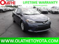 LIFETIME POWERTRAIN WARRANTY ON THIS LOW MILE 2015