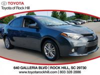 We are excited to offer this 2015 Toyota Corolla. Your