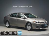 38/29 Highway/City MPG At Dorschel Toyota, you can get
