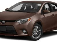 2015 Toyota Corolla LE For Sale.Features:Front Wheel