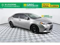 Clean CARFAX. Recent Arrival! This 2015 Toyota Corolla