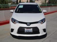 Options:  2015 Toyota Corolla Le Eco|Carfax