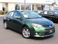 Options:  2015 Toyota Corolla Le Eco