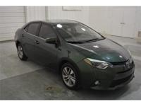We are excited to offer this 2015 Toyota Corolla. How