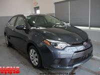 CARFAX One-Owner. 2015 Toyota Corolla FWD 1.8L I4 DOHC