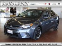 Options:  2015 Toyota Corolla Le|One Owner; Low Miles