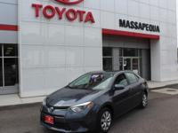 Gy 2015 Toyota Corolla LE FWD 6-Speed Manual 1.8L I4