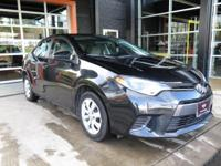 FUEL EFFICIENT 38 MPG Hwy/29 MPG City! LE trim. CARFAX