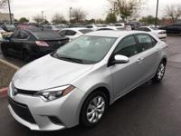 CARFAX One-Owner.  2015 Toyota Corolla LE  Awards: *