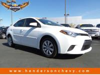 Check out this 2015 Toyota Corolla LE. Its Variable